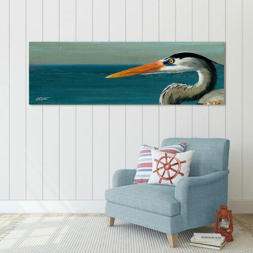 Heron Stare 7x24 900x900