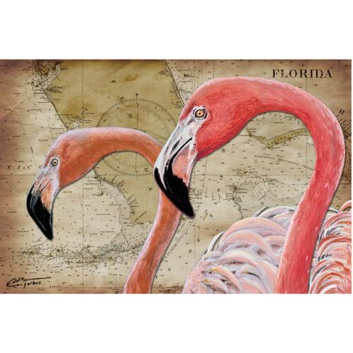 Flamingo Trap 11x16