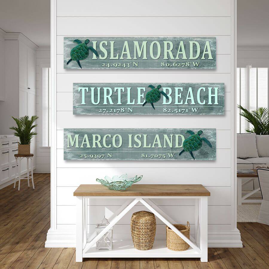 TURTLE SIGNS